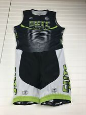 Sugoi Triathlon Tri Suit Size Xl Womens Black And Green