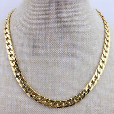 KQ_ Men's Fashion Jewelry Gold Tone Hip Hop Jewelry Charm Chain Necklace Conveni