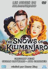 DVD Les Neiges du Kilimandjaro - Gregory Peck, Susan Hayward, Ava Gardner...