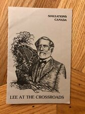 Lee at the Crossroads by Simulations Canada