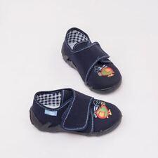 Calzado azul de lona para bebés