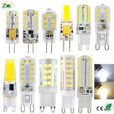 G4 G9 Bombilla LED 3W 6W 7W 8W 9W 10W 12V/220V Regulable 2835 3014 COB Lámpara
