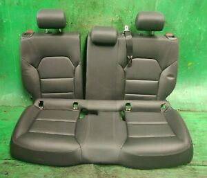 MERCEDES A CLASS W176 INTERIOR REAR SEATS LEATHER BLACK 2012-2015