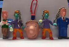VTG Lot of 5 Nickelodeon 90s Doug Funnie Funny Skeeter keychain Pen Coin holder