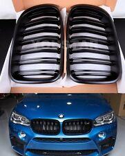 MATT M PERFORMANCE KIDNEY GRILLS BLACK for BMW X3 X3M F25 LCI 15 ON & F26 X4 X4M