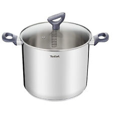 Tefal Daily Cook Stainless Steel Induction Stockpot 6.5 qt Dishwasher Oven Safe