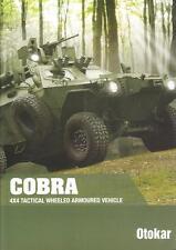 OTOKAR COBRA 4x4 2015 TURKISH ARMY MILITARY BROCHURE PROSPEKT FOLDER