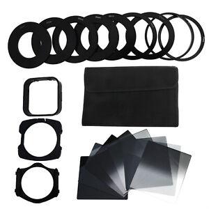 neutrale Dichte Filter Set Filterhalter Ring Adapter für Cokin