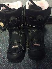 Women Salomon Ivy Boa 2014 Snowboard Boots size 8.5