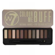 "W7 Eye Colour Palette ""in The Buff"" Lightly Toasted"