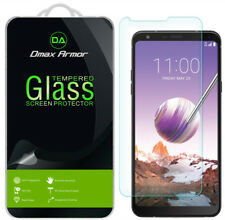 3x Dmax Armor Tempered Glass Screen Protector for Lg Stylo 4+/ Stylo 4 Plus