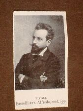 Deputato nel 1909 Baccelli Alfredo di Tivoli e Marcello Girolamo di Venezia