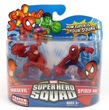 Marvel Super Hero Squad-Daredevil & Spider-Man Action Figure Set