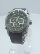 Diesel DZ4151 men's watch green dial stainless steel DZ-4151 analog 10 ATM