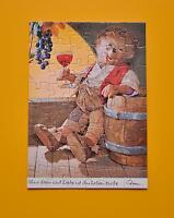 Rarität AK Mecki original Diehl Nr. 311 neu als Puzzle  Ohne Wein und Liebe ist
