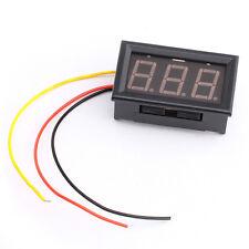 Mini Digital DC 0-100V 0.56inch Green LED display Voltage Meter Panel