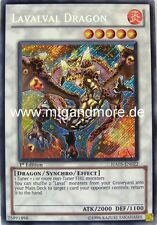 Yu-Gi-Oh 1x Lavalval Dragon - - - HA05 - - - Secret Rare