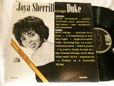 JOYA SHERRILL Sings Duke Cootie Williams Ray Nance LP