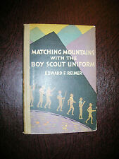 Matching Mountains with the Boy Scout Uniform By Edward Reimer 1929 Beautiful!