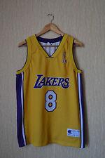 LA LAKERS BASKETBALL JERSEY NUMBER / 8 KOBE BRYANT - NBA - CHAMPION - LARGE SIZE