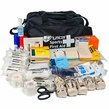 Ultimate Sports First Aid Kit in Black Holdall