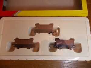 HORNBY R6473 3-25 TON STONE OPEN MINERAL WAGONS OO Gauge