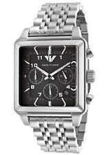 ** NEW **Emporio Armani® watch AR1626 , Black , mens CHRONOGRAPH