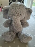 Marks and Spencer Grey Elephant Soft Toy 36cm (07935503) M&S