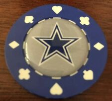 Poker chip card guard protector Poker Weight, NFL Dallas Cowboys  Poker Chip