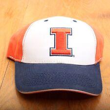 Illinois Block I Baseball Cap Hat Adjustable Strap