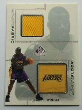 2001 Upper Deck SP Shaquille O'Neal Game Floor Edition Authentic Fabric/Floor
