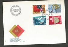 SWITZERLAND -1985 Anniversaries - FIRST DAY COVER.