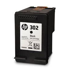 HP 302 Noir Cartouche d'encre d'origine (F6U66AE-NP) Neuf Officejet 3833 2134