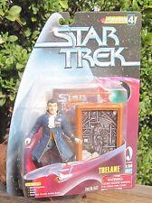 1998 Playmate Star Trek Warp Factor Series 4 Trelane W/Space Cap Card/Base+ Moc