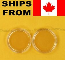 2x RIMLESS CANADA COIN CAPSULES - PICK A SIZE
