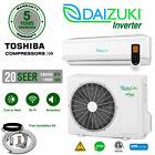 18000 BTU Air Conditioner Mini Split 20 SEER INVERTER AC Ductless Heat Pump 220V