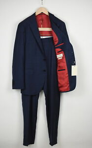 RRP$599 SUITSUPPLY SIENNA SINGLE BREASTED Men UK44R Super 130'S Wool Suit 16245