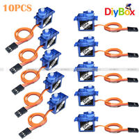 10PCS 9G SG90 Mini Micro Servo For RC Robot Helicopter Airplane Car Boat