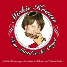 """MICKIE KRAUSE """"VOM MUND IN DIE ORGEL"""" CD NEUWARE"""