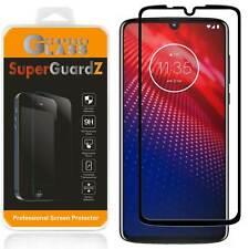 FULL COVER Tempered Glass Screen Protector For Motorola Moto Z4 / Z4 Play