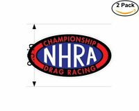 NHRA Championship Drag Racing 2 Stickers 9.5 Inch Sticker Decal
