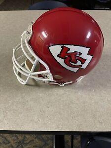 Riddell NFL Kansas City Tony Gonzalez Style Helmet, Size Large- Red