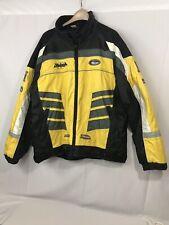 Striker Performance Wear, Striker Venom Jacket Size 2XL  Black/Yellow #10429