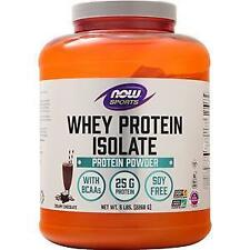 Now Whey Protein Isolate Creamy Chocolate 5 lbs