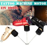 Rotary Tattoo Machine Motor Makeup Machine Supply Kit Liner & Shader Black
