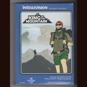 King of the Mountain for Intellivision. BSR edition  NIS