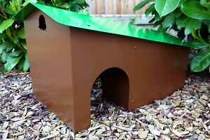 Hedgehog Predator Proof Hibernation House Shelter Sanctuary Garden Nest Habitat