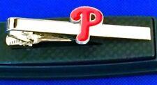 Philadelphia Phillies Tie Bar Phillies Baseball Team Logo Tie Clip NEW