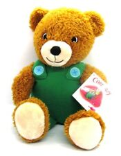 "Kohl's Cares CORDUROY 14"" Plush Bear Green Overalls from Book by Don Freeman NWT"