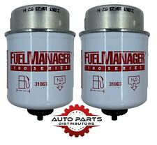 31863 Fuel Manager Diesel Filter Twin Pack (2 filters) 30 micron
